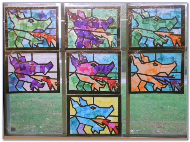 Stained GLASS WINDOW Film Contact Paper for sale