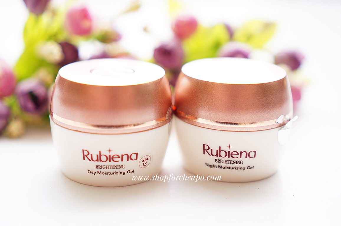 Rubiena Brightening Day & Night Moisturizing Gel Review