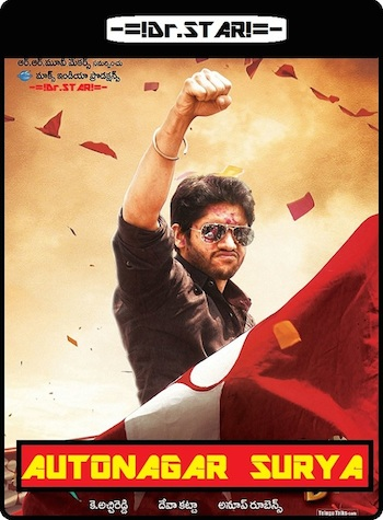 Autonagar Surya 2014 UNCUT Dual Audio Hindi 720p HDRip 1.3GB