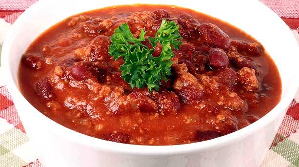 Receta de Chilis con Carne
