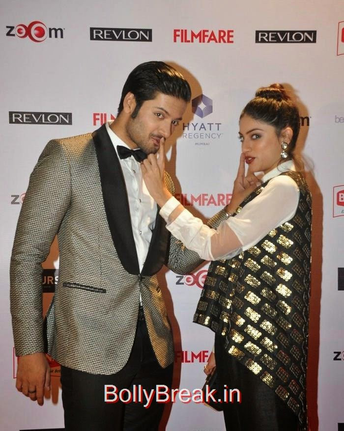 Ali Fazal, Sapna Pabbi, 60th Britannia Filmfare Awards pre-awards Party 2015 Red Carpet Pics