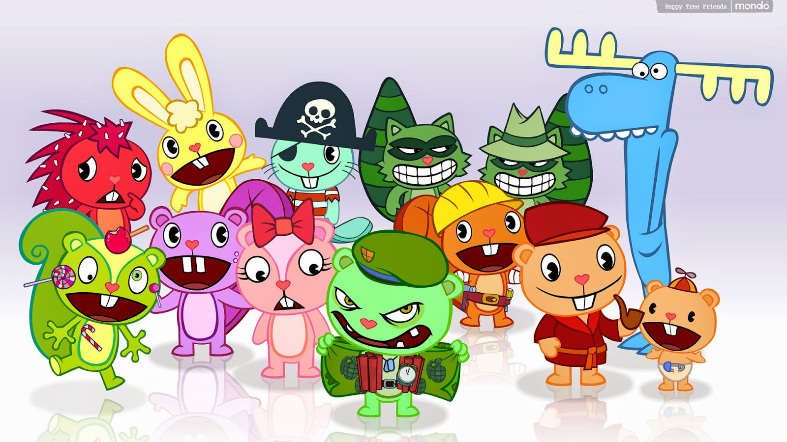 GalleryCartoon GAMBAR KARTUN HAPPY TREE FRIENDS  Picture 6