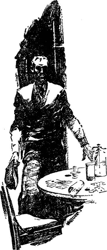 Illustration for Adventure, May 15 1933 - The Stamped Crime by Allan Vaughan Elston