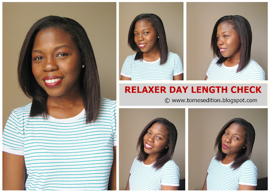 Relaxer Day Results | Length Check…