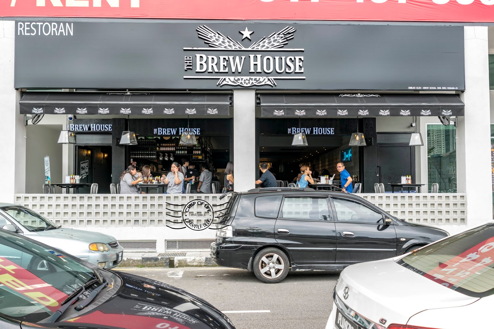The Brew House Anson Cube at Anson Road, Georgetown, Penang