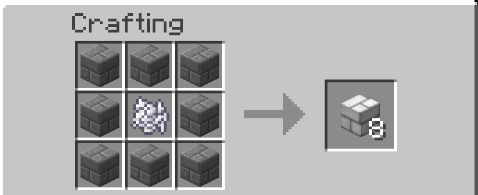 how to make white dye in minecraft pc