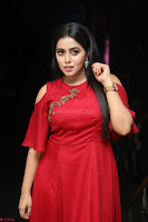Poorna in Maroon Dress at Rakshasi movie Press meet Cute Pics ~  Exclusive 113.JPG