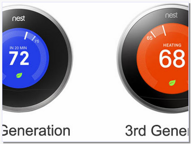 Nest Thermostat Generations Compare