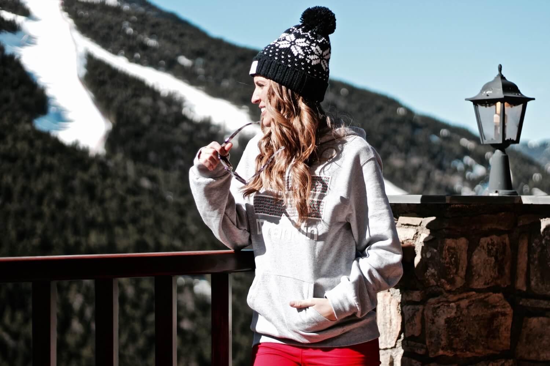 estilo en la nieve