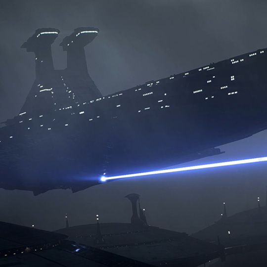 Venator-class Star Destroyer Wallpaper Engine