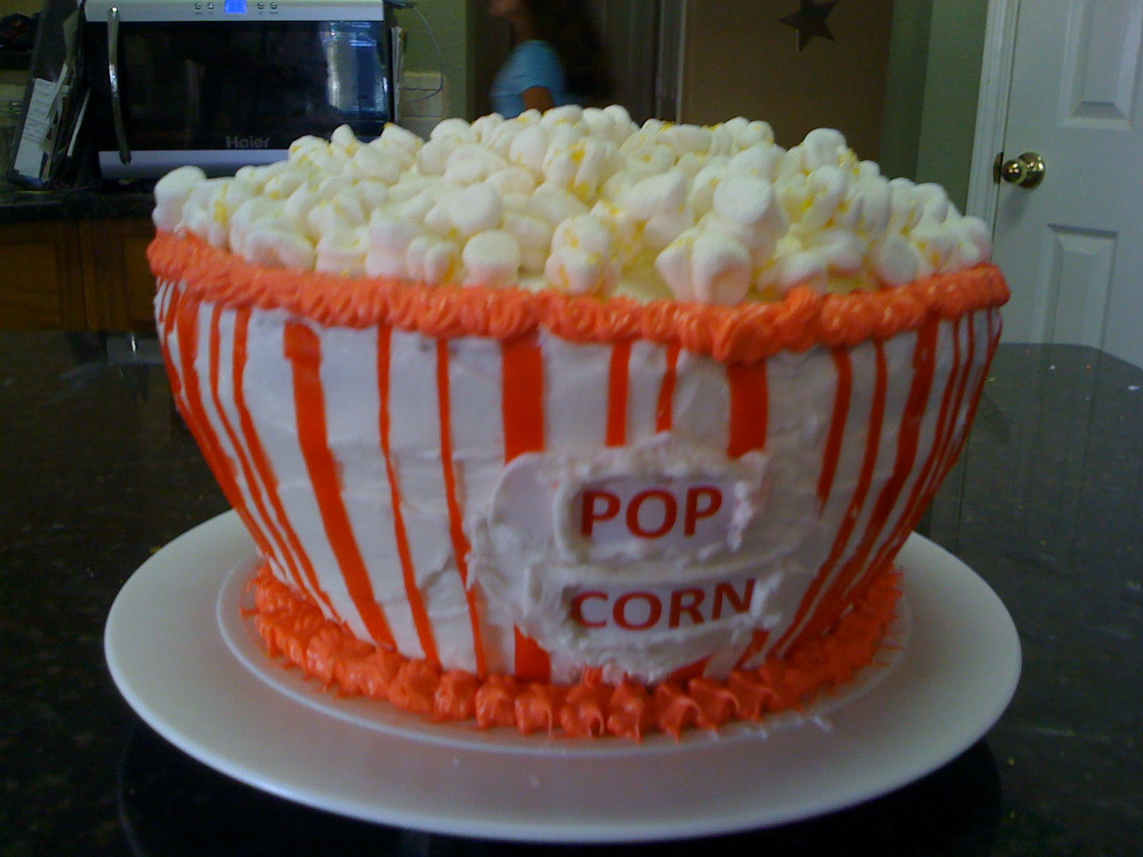 Popcorn Cake for Movie Party