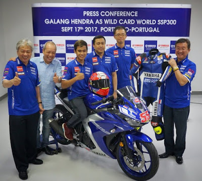 Press Conference - Galang Hendra menuju WSSP300