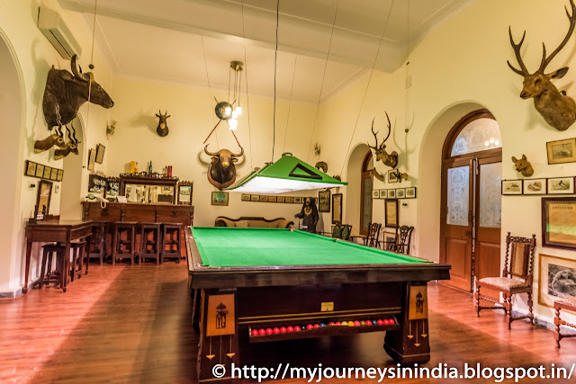Sandur Shiva Vilas Palace Hotel Bar and Billiards Room