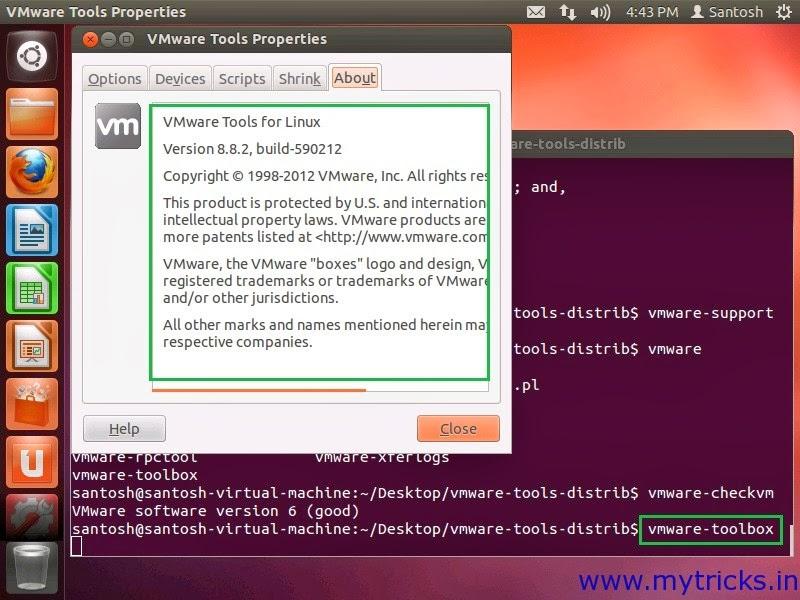 ubuntu in vmware