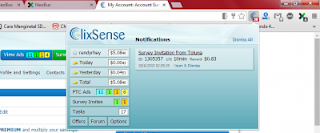 add on clixsense Cara memasang Clix Addon Clixsense di browser Komputer/Laptop