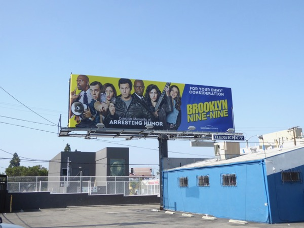 Brooklyn Nine-Nine 2017 Emmy FYC billboard