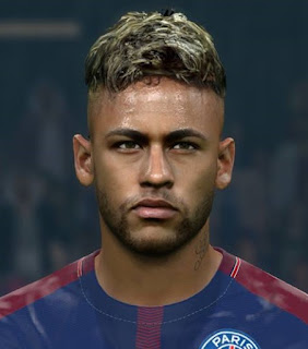 PES 2017 Faces Neymar da Silva Jr by Alief