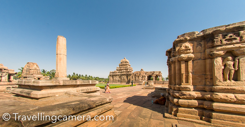 The Pre-Chalukya historical and archaeological site Bachinagudda is also near Pattadakal, but it was not possible to think of 3rd place to explore in a day. So our next destination as Badami caves.