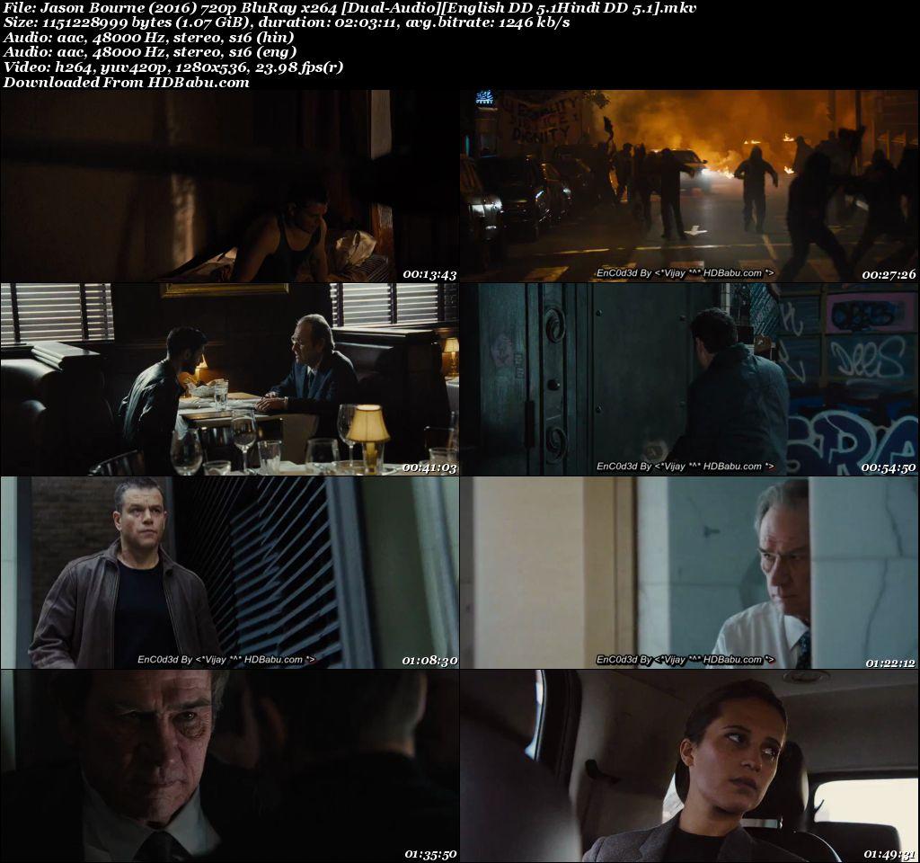 Jason Bourne Hindi Dual Full Movie Download