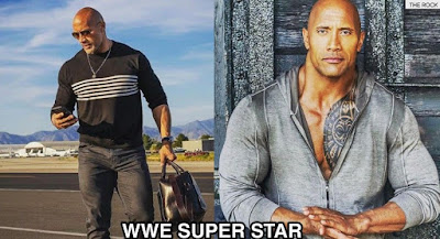Dwayne Johnson ( The Rock )