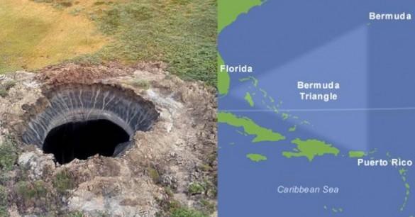 Lubang Siberia Mungkin Terkait dengan Segitiga Bermuda?