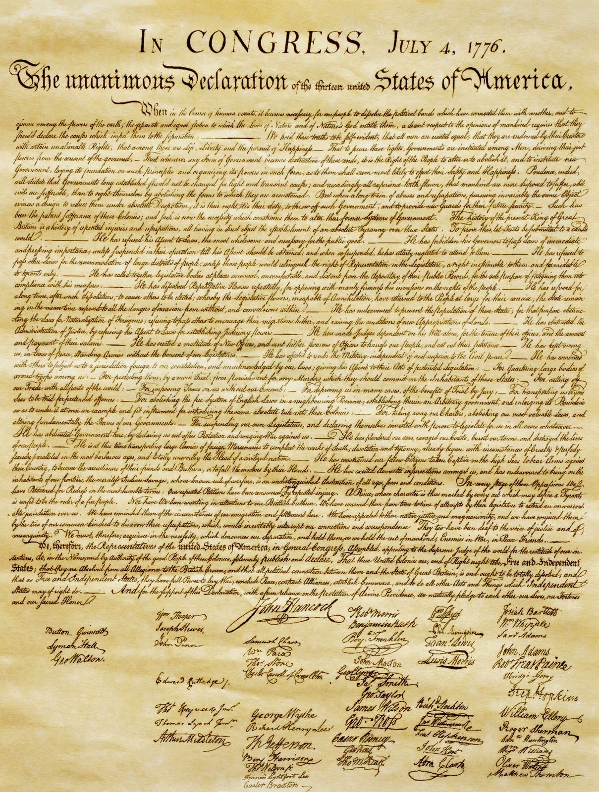 8th grade us history blog declaration of independence declaration of independence