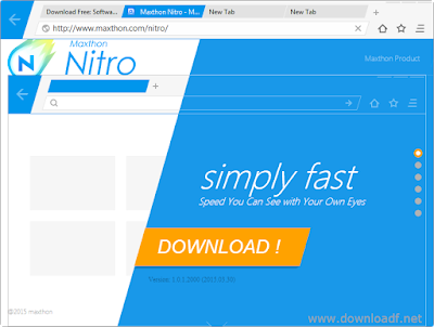 Download faster browser maxthon nitro 2018 the latest version for free.