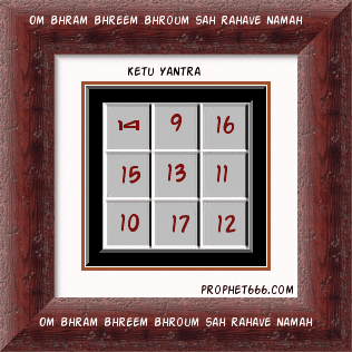 Dragon Tail or Ketu Yantra