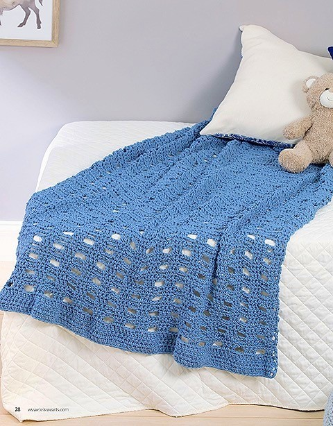 tshirt yarn afghan blanket crochet pattern