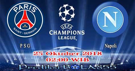 Prediksi Bola855 Paris Saint Germain vs Napoli 25 Oktober 2018