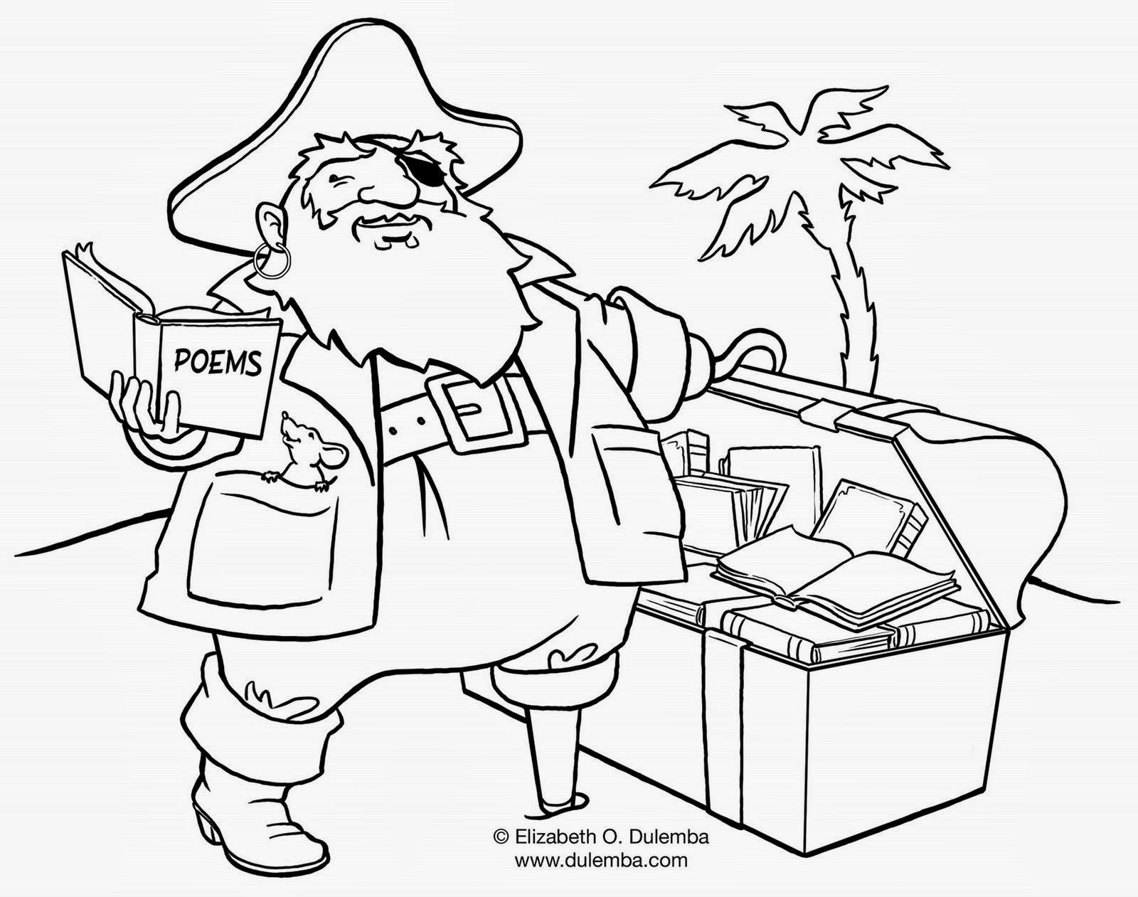Desenhos Para Colorir De Piratas