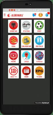 تطبيق Albkanale الخرافي لمشاهدة جميع قنوات العالم المشفرة على اجهزة الاندرويد