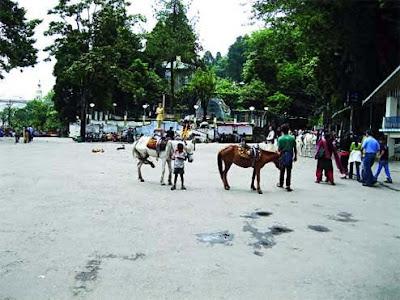 Chowrastha in Darjeeling