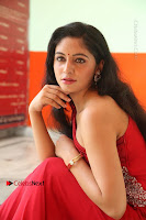 Actress Zahida Sam Latest Stills in Red Long Dress at Badragiri Movie Opening .COM 0126.JPG