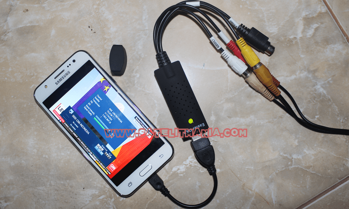 Cara Mudah Tracking Satelit Menggunakan EasyCap di Android