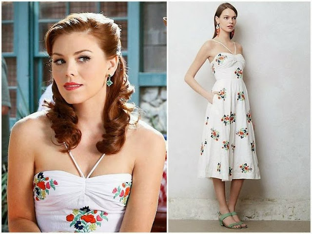 Kaitlyn Black in Leifsdottir Dress – Seen On 'Hart of Dixie '