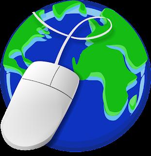mouse sobre mundo