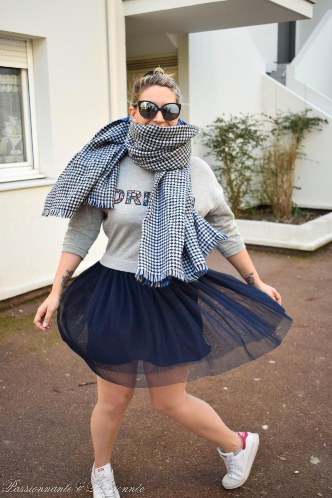 comment porter la robe en tulle