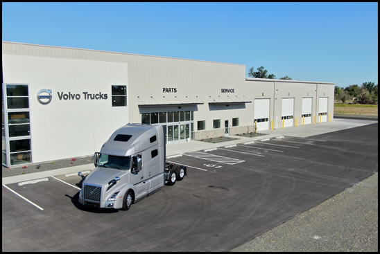 Northwest Equipment Sales New Location in Burbank, Washington
