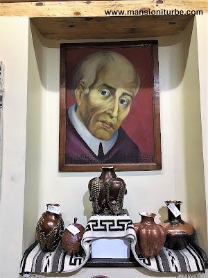 Don Vasco de Quiroga at the National Copper Museum in Santa Clara del Cobre, Michoacán