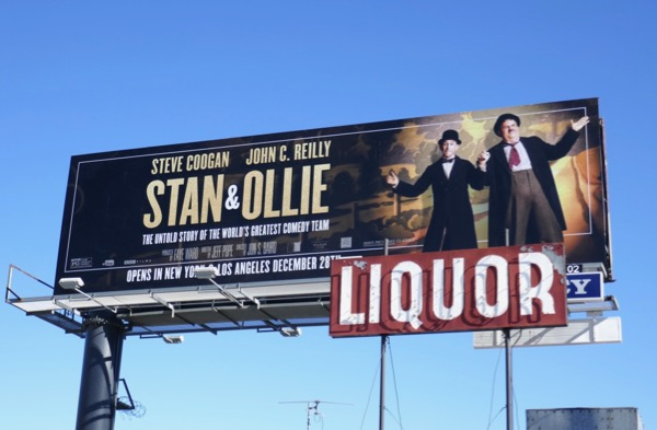 Stan & Ollie movie billboard