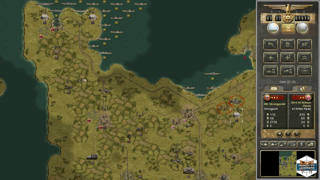 Maps can get very busy with war in the sky, on land, and in the ocean