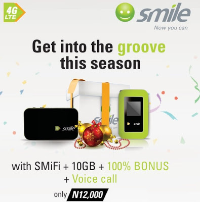 Christmas Season Campaign: Smile Offers Free YouTube Access, Free On-Net Voice Calls to Customers