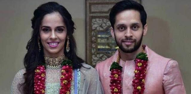 पी कश्यप संग सायना नेहवाल बंधी शादी के बंधन में
