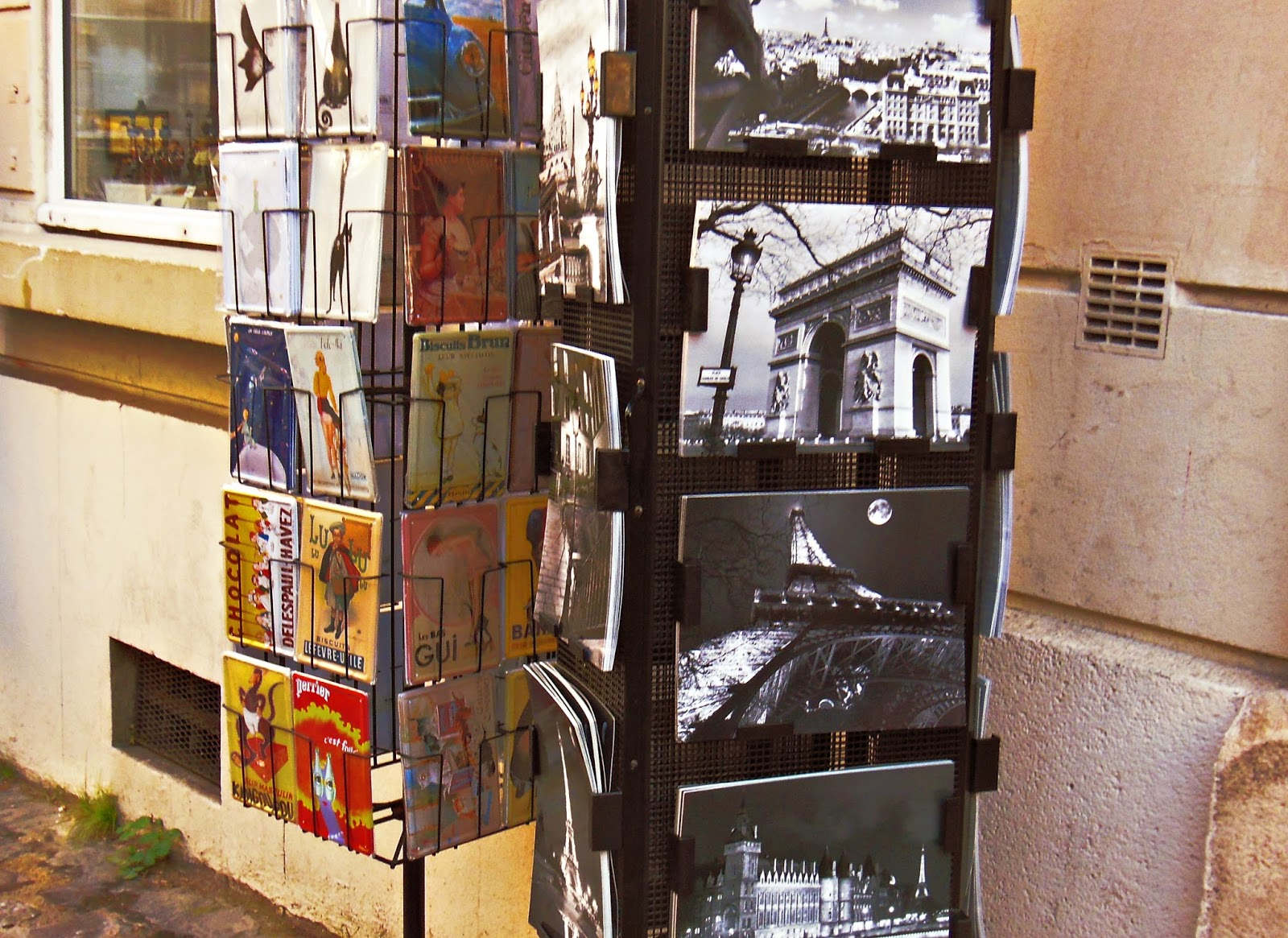 Paryż, Francja, pocztówki