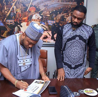 Tonto Dikeh's husband signs singer, Praiz as brand ambassador