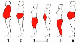 6 τύποι σωματικού λίπους και πώς να το ξεφορτωθείτε