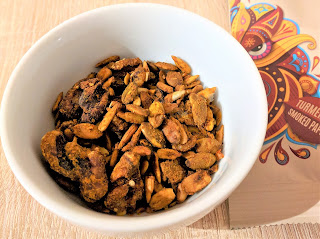 Boundless activated nuts and seeds turmeric & smoked paprika