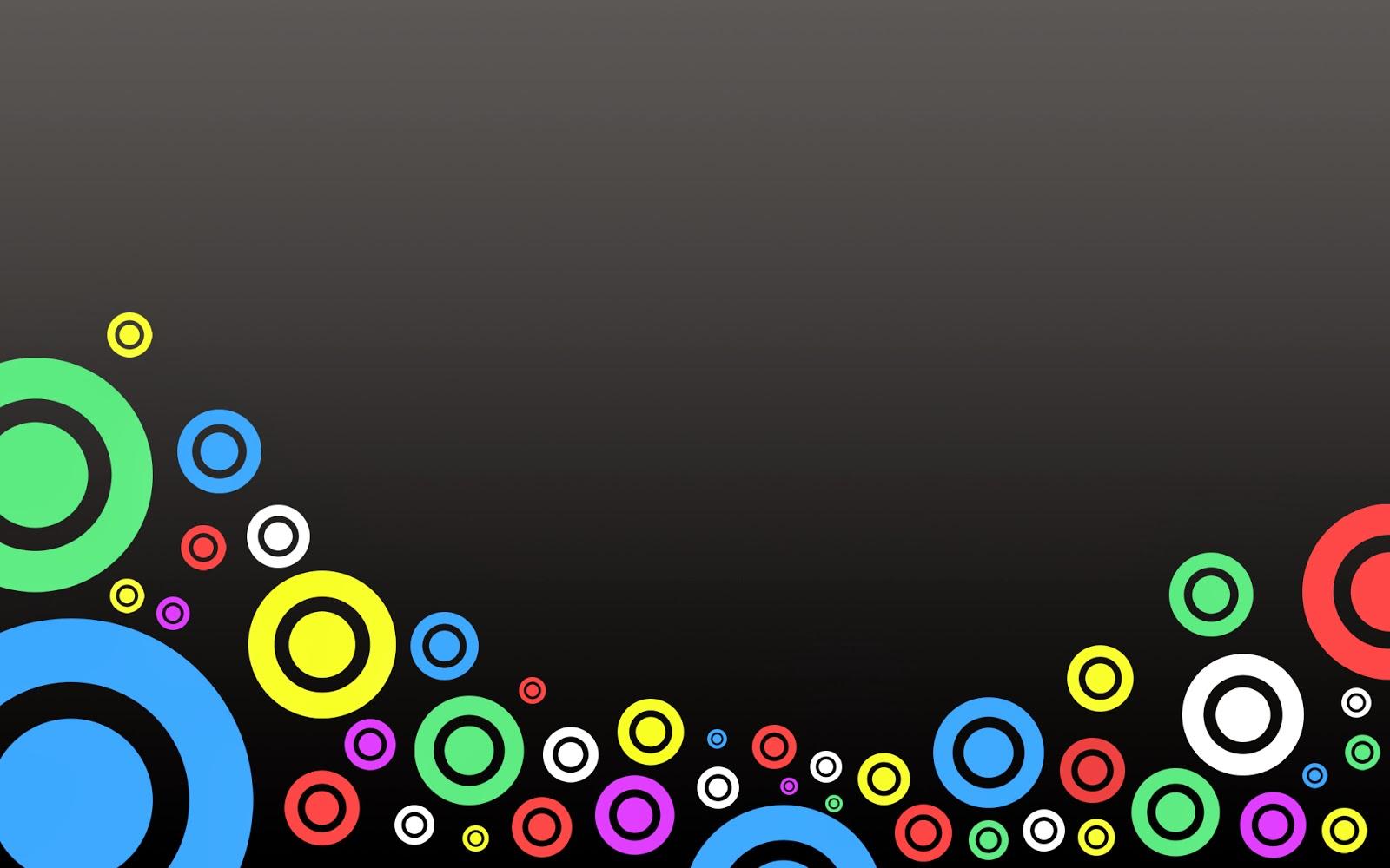 Imagenes Abstractas En Hd Para Descargar: Fondo De Pantalla Abstracto Circulos De Colores