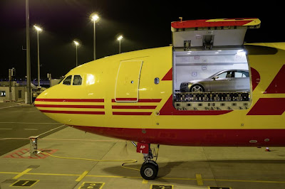 New Mercedes S-Class by DHL